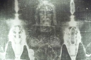Detail of Shroud of Turin